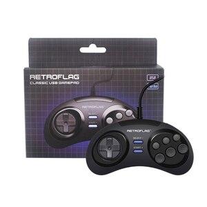 Image 4 - Retroflag Wired USB Game Controller Gamepad Joypad for Rasbperry Pi 4 B /MEGAPi/NESPi/SUPERPi Case for PC/Switch for Windows