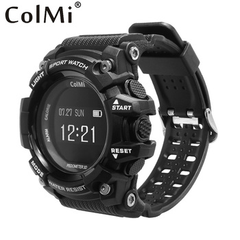 ColMi Smart Watch T1 OLED Display Heart Rate Monitor IP68 Waterproof Push Message Call Reminder for Android IOS Phone Watch