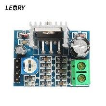 Плата модуля аудио усилителя LEORY TDA2030A Mono 18 Вт, 10 к, регулируемый усилитель мощности сопротивления 6 12 В