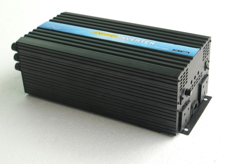 CE ROHS Approved Dc 12v To Ac 220v 4000w 4kw Pure Sine Wave Power Inverter Solar