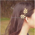 New fashion women hair clips leaves style hairclips barrettes women headwear hair accessories free shipping