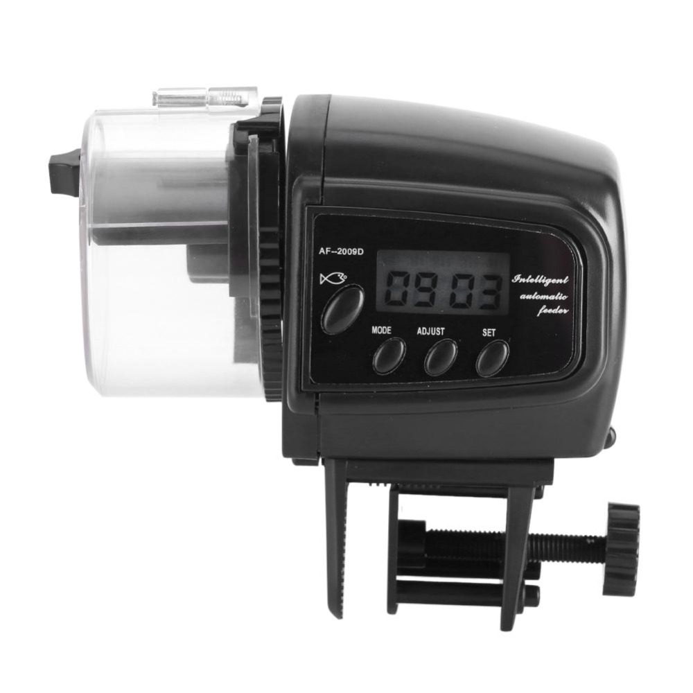 Lcd Electronic Automatic Fish Feeder Dispenser Timer Automatic Tank Food Feeding Machine Aquarium Auto Fish Feeder Timer