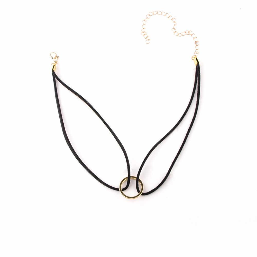 Stilvolle Wilde Halskette Luxus Lange Anhänger Halskette Elegante Frauen Neue Leder Halsband Hippy Halskette Hohe Qualität BK11 LX111 L0326