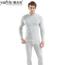 Men Thermal Underwear High Collar Brand Cotton Keep Warm Winter Autumn Male Quality Long Johns Tmall