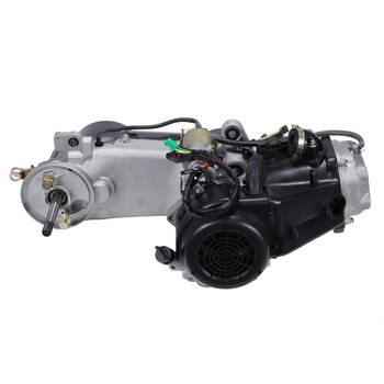 150cc cdi refrigerado a ar gy6 único cilindro 4-stroke conjunto completo do motor cvt embreagem