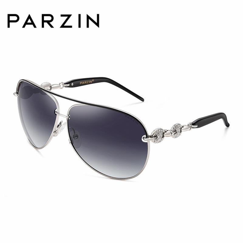 PARZIN De Luxe Diamant Polarisé Femmes Lunettes De Soleil Élégant - Accessoires pour vêtements - Photo 5