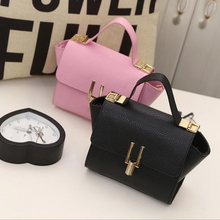 2019 Summer Fashion Women Bag PU Leather Handbags Ladies Shoulder Bags Rivet Small Casual Messenger Bags For Girls Gifts