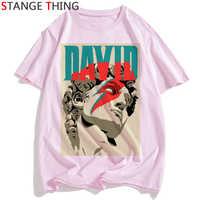 Rip David Bowie T Shirt mężczyźni/kobiety anglia muzyka rockowa gwiazda popu koszulka zabawna koszulka z nadrukiem Unisex hip-hopowy top Tees męski/żeński
