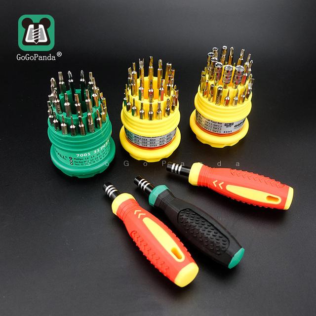 Precision Handle Screwdriver Repair Set (31 in 1)