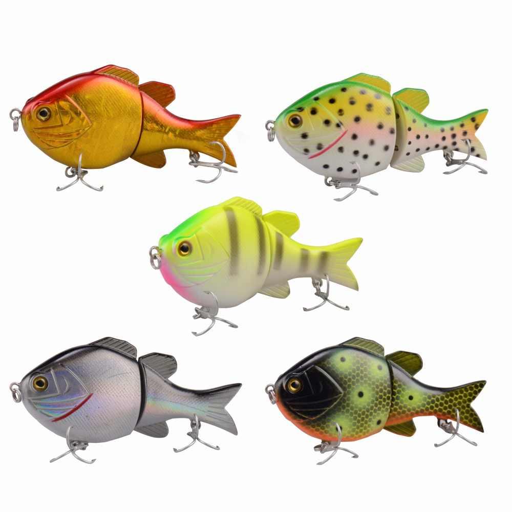 Leurre réaliste MadBite 5 pièces 24g 90mm dur carpe leurres de pêche pêche en eau salée nager appâts artificiels 2 crochets pointus