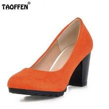 Ladies High Heel Shoes Gladiator Shoes Women Platform Fashion Square Heeled Footwear High Heels Pumps Shoes Size 34-43 PA00904