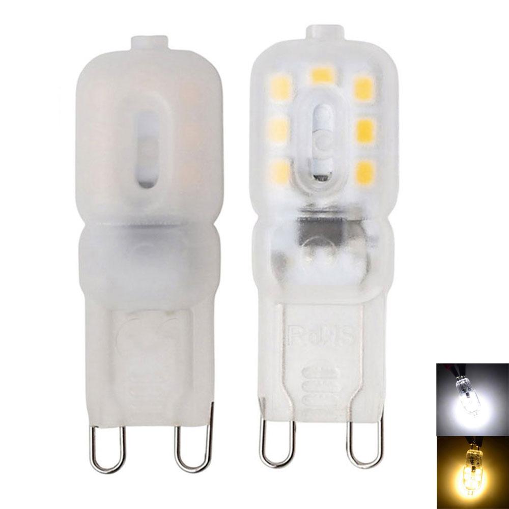 G9 LED 14LEDs 3W LED G9 Lamp LED Bulb SMD 2835 LED Light Replace 25W Halogen Lamp Light Milky White Transparent  Shell 110V 220V