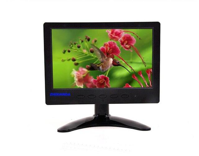 7 дюймовый ЖК-монитор монитор Компьютера мониторы с HDMI/AV/VGA/BNC вход СВЕТОДИОДНЫЙ цифровой экран