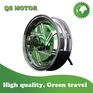 New Electroplating color 8000W 13inch QS Wheel Hub Motor V2 Type for Electric motorcycle