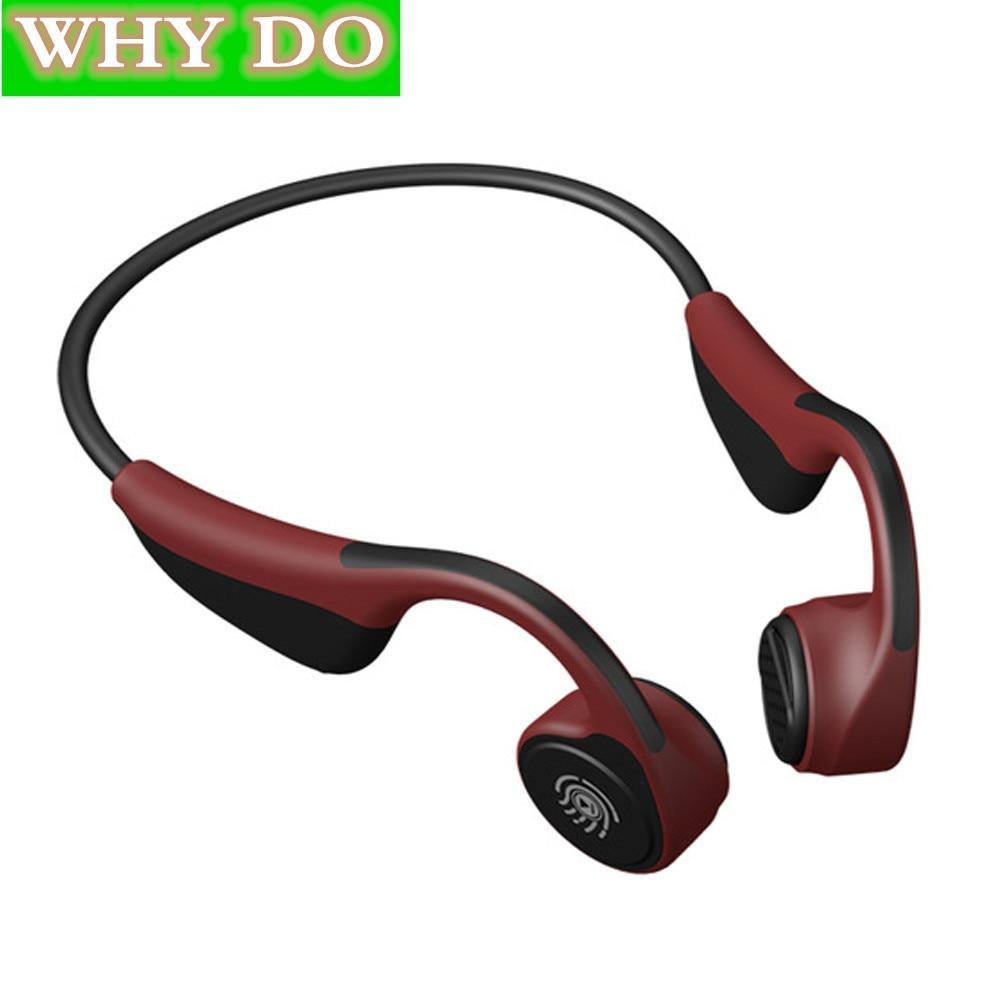 V9 sans fil Bluetooth 5.0 casque Sport étanche Conduction osseuse casque contrôle tactile haute qualité sans fil écouteurs