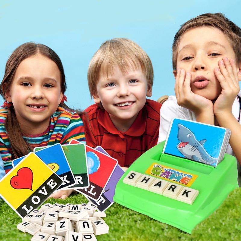 Дети играют в слова картинки
