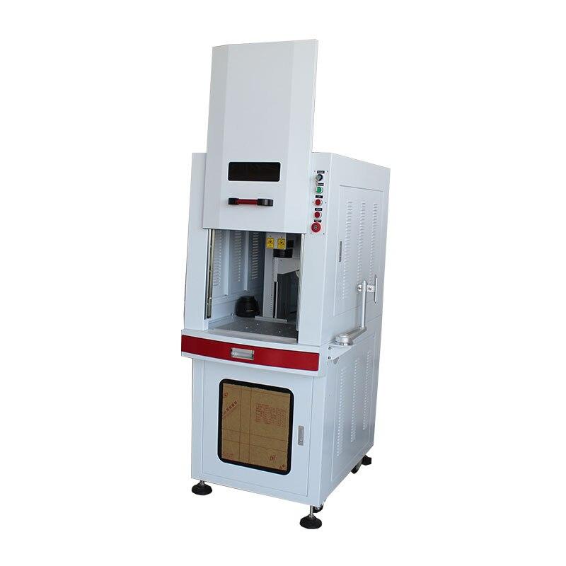 Nieuwe En Verrassing! Fiber Laser-markering Machine 20 W Met Hoge Steady Voor Coin/telefoon/camera Sterke Weerstand Tegen Hitte En Hard Dragen