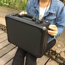 ความปลอดภัยกรณีอุปกรณ์กล้องโฟมซับ Impact เครื่องมืออลูมิเนียมกระเป๋าเดินทางกล่องเครื่องมือกล่อง