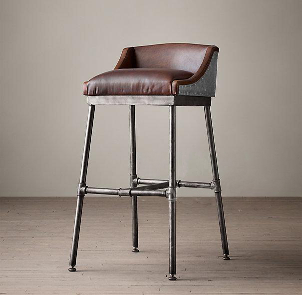 Industrial Furniture American Retro To Do The Old Wrought Iron Pipe  Fittings Chairs Bar Stools Highchair