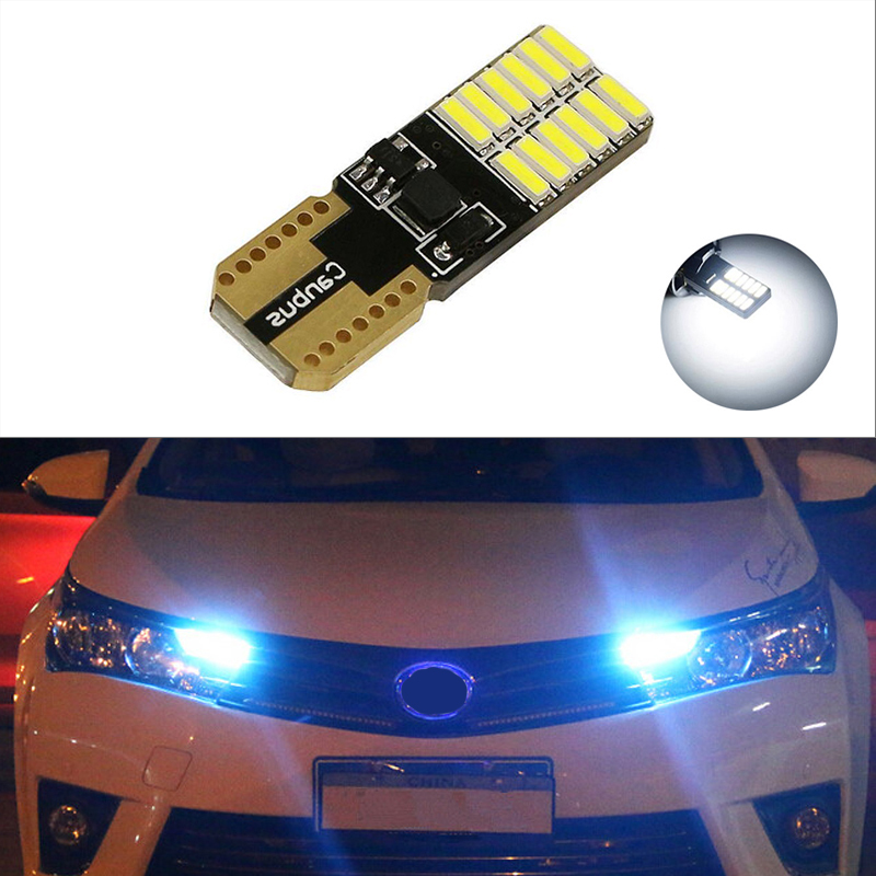 1x T10 Samsung Car LED Parking Light For Toyota Corolla Avensis Yaris Rav4 Hilux Prius <font><b>Camry</b></font> 40 Celica Supra Prado Verso image