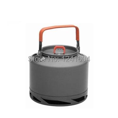 Огонь Клен fmc-xt2 жесткий анодирования Алюминий Открытый Отдых Пикник Чай/Кофе горшок 1.5l тепла сбор теплообменник чайник 308 г