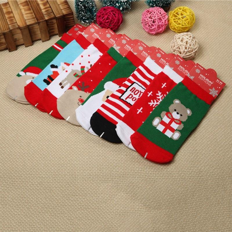 Boys Christmas Socks.Us 0 93 1 Pair Cotton Spring Autumn Baby Girls Boys Kids Socks Children Warm Boys Christmas Fashion Colorful Kids Kawaii Socks In Socks From Mother