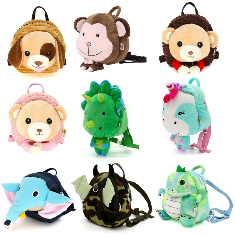 Backpack-Leash Toddler Animal-Bag Anti-Lost Kids Child Cartoon New Baby Safety-Harness