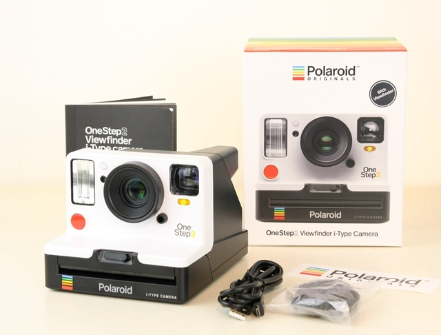 Polaroid Onestep2 VF +  white stranger things edition rainbow New camera with i type film and 600 film