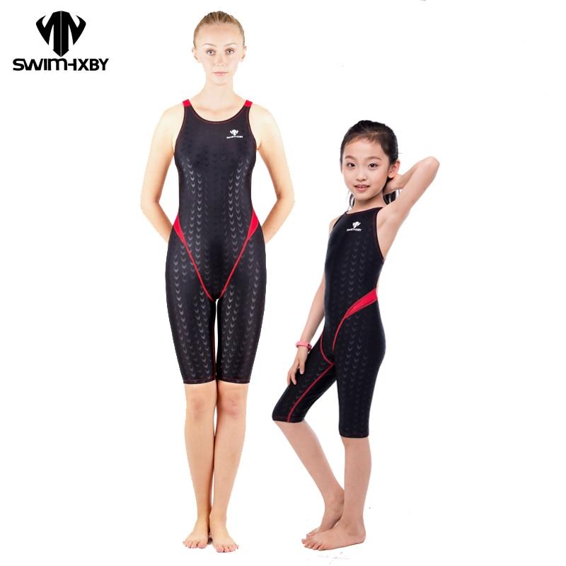 Hxby professionale swimwear delle donne costume intero per le ragazze costumi da bagno costumi - Costumi da bagno per ragazze ...