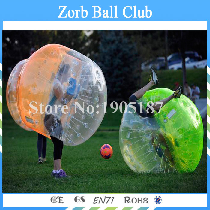 Free Shipping Exciting Crazy TPU loopy ball,inflatable buddy bumper ball,inflatable soccer bubble