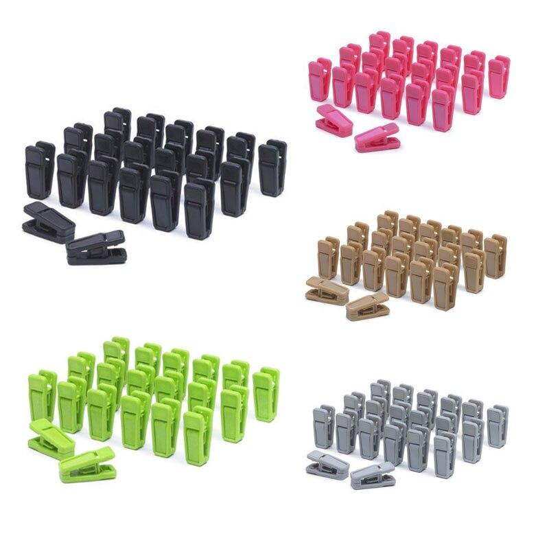 20PCS Heavy Duty Clothes Pegs Plastic Hangers Racks Clothespins Laundry Clothes Pins Hanging Pegs Clips Sale