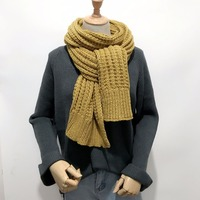 Size 190*30cm Warm wool scarf for women scarves knitted women fashion neck wool cashmere scarves Pashmina Scarf