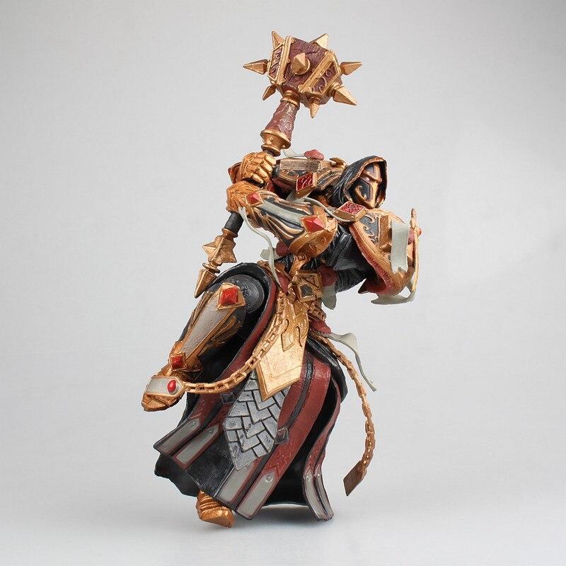 Jeu WOW Paladin juge Malthred Figurine jouet personnage PVC figure 21 cm Figurine poupée cadeau