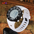 OHSEN New 2016 smart military Multifunctional electronic fashion sprots swimming diving white UNISEX watch waterproof 30M