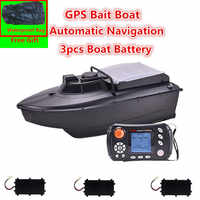 Free Bag JABO 2CG 20A/10A GPS Auto Return Fishing Bait Boat GPS Fish finder bait boat Automatic Navigation RC Boat with bag toys