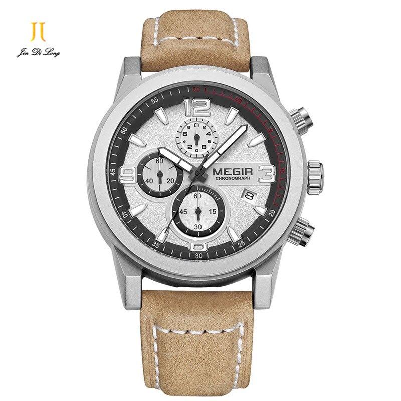 ФОТО 2016 Luxury Brand Casual Men's Watches Leather Waterproof Fashion Style Quartz Watch Men Sport Military Army Wristwatch