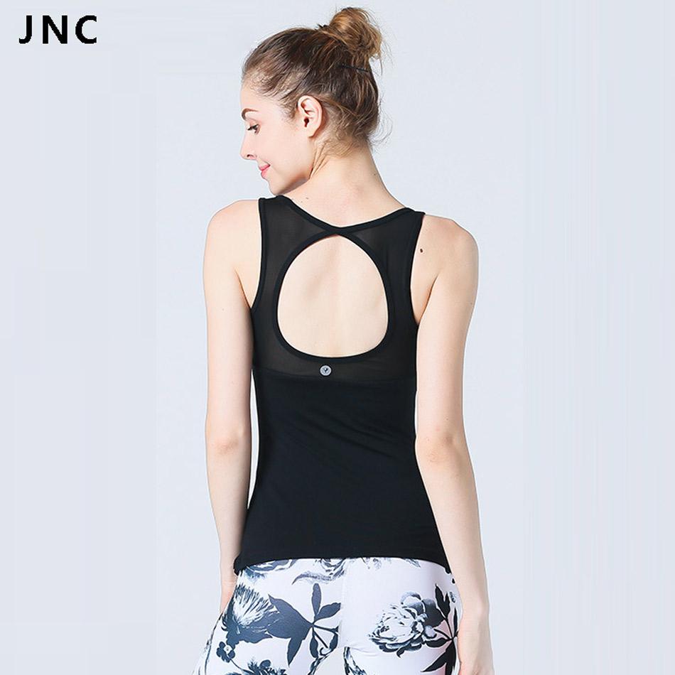 f9c04cb68c379 JNC Women s sports bra fitness cross back yoga bra medium impact workout  gym bra padded backless yoga top sexy gym crop top braUSD 13.07 piece
