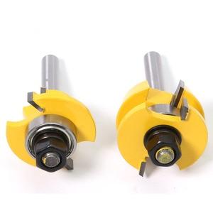 Image 5 - 2 PC 8mm Shank Đường Sắt & Stile Router Bit Set Shaker cửa dao Chế Biến Gỗ cắt Mộng Cutter cho chế biến gỗ Công Cụ