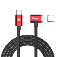 Baseus Magnetic Type C To Type C Cable For Apple Macbook Pro Charger Cable Universal S7