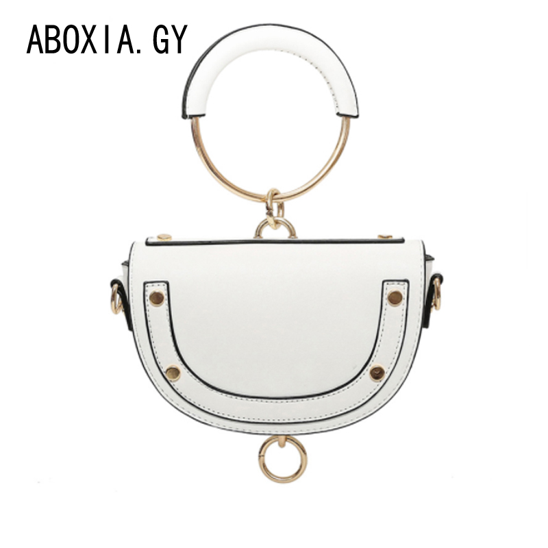 Detail Feedback Questions about Fashion Women Chain Bag Lady Messenger Bag  Small Round handBag Spring Summer Cute Mini Shoulder White Red Black Bags  2e653 ...