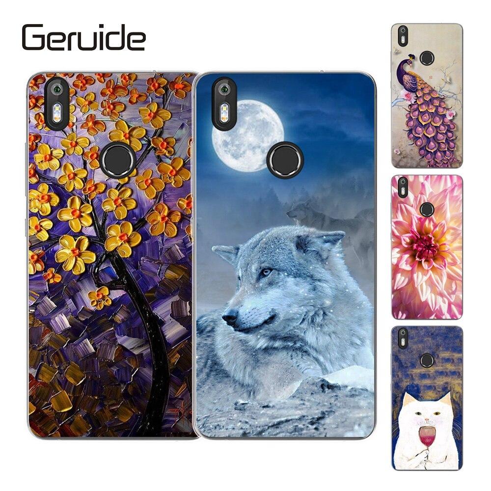 Geruide Phone Cases Coque For BQ Aquaris X PRO 5.2 Case Cover, Soft Silicon Back Cover