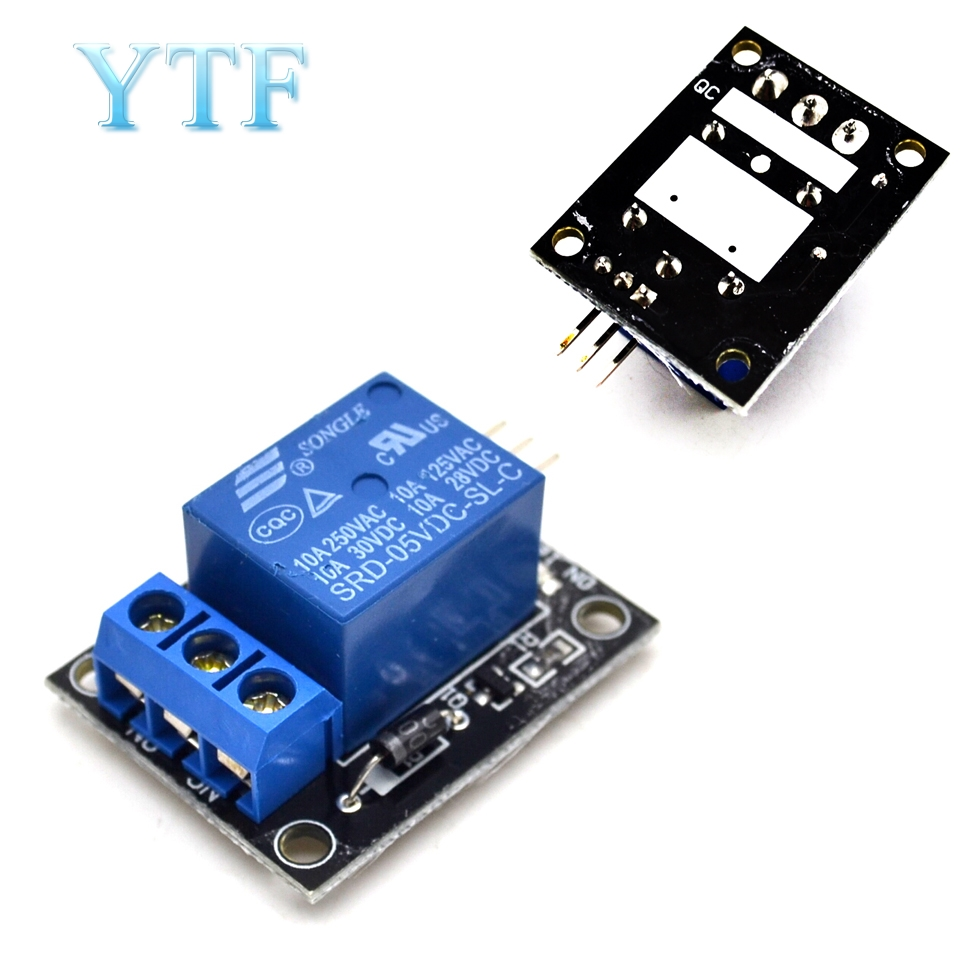 KY-019 5V One 1 Channel Relay Module Board Shield For PIC AVR DSP ARM For Arduino