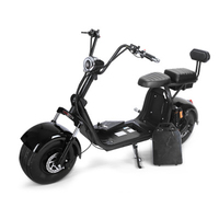 Adult electric motorcycle citycoco electric bike electric scooter removable double batteryintelligent 60v lithium battery