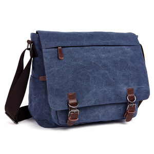 Image 2 - New Men Messenger Bags Fashion Bolsa Masculina Travel Shoulder Bags Portatiles Ordenadores Canvas Briefcase Chapeu Masculino