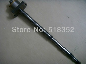 L380mm Screw Rod with Feed Screw Nut  M18x 3mm Tooth Pitch Used for Ningbo Zhongyuan Wire EDM Machines, EDM Spare Parts