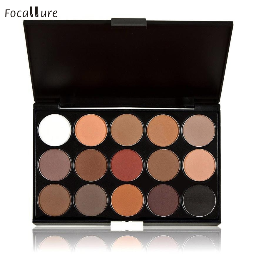 Good Sale 15 Colors Women Cosmetic font b Makeup b font Neutral Nudes Warm Eyeshadow Palette