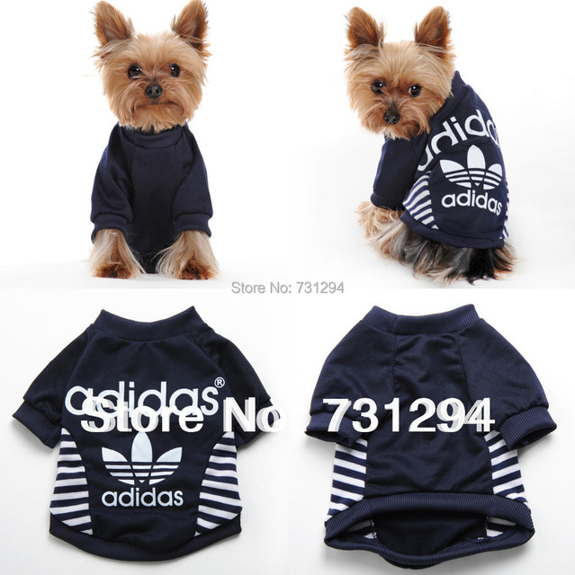 Pet Shirt Dog Shirt Dog Clothes Pet Products New Summer Dark Blue