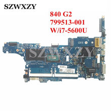 799513-001 For HP 840 G2 Laptop Motherboard With SR23V i7-5600U Processor 2.60GH 6050A2637901-MB-A02(China)