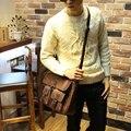 Novo Estilo Do Vintage Da Moda Sacos de Ombro Único Sacos do Mensageiro Dos Homens Pasta do Negócio Grande Saco corpo Cruz Sacos de Viagem Laptop
