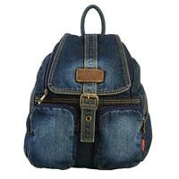 IVOTKOVA Fashion women denim backpack new casual women's bag high quality teenage girl school bag daily backpacks rucksack